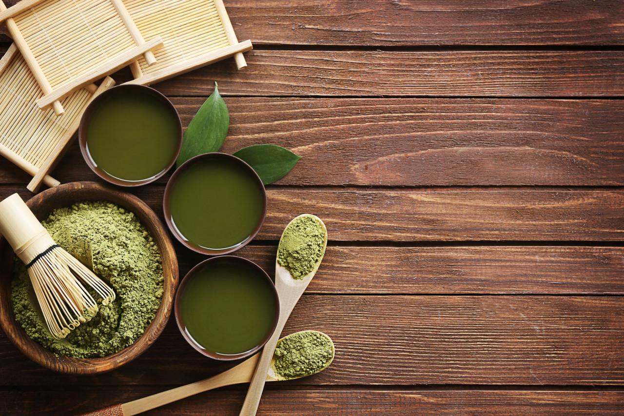 zestaw herbat zielonych